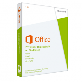 Microsoft Office 2013 Home & Student NL - 1PC